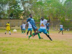 Grassroots players at football championship in Abeokuta